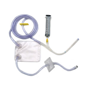 PROTOCOL Administration Set with Small Catheter and Retention Cuff