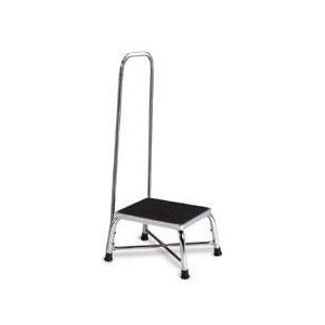 Bariatric Step Stool Single Step W Handle Cmx Medical