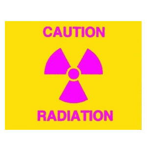Caution Radiation-CMX