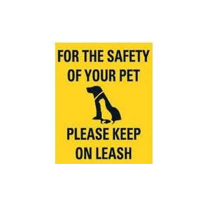 Keep Pet on Leash-CMX