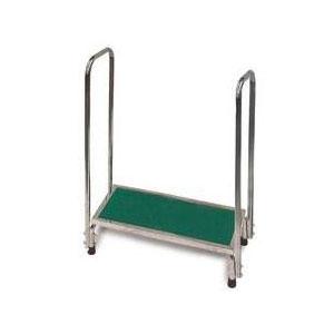 MRI Platform Stool w/Handrail-CMX