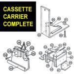 Piggostat-Cassette Carrier Complete-CMX