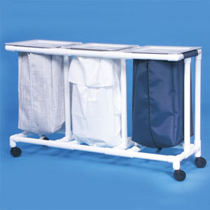 Triple Linen Hamper-NO Foot pedal-CMX