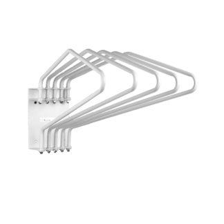 lead apron rack folding 5 arm