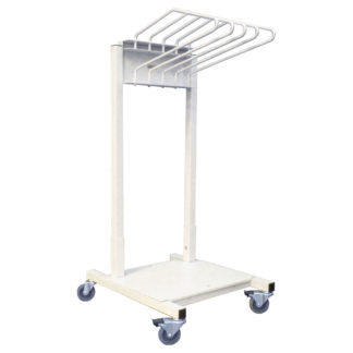lead apron rack mobile budget saver 5 arm