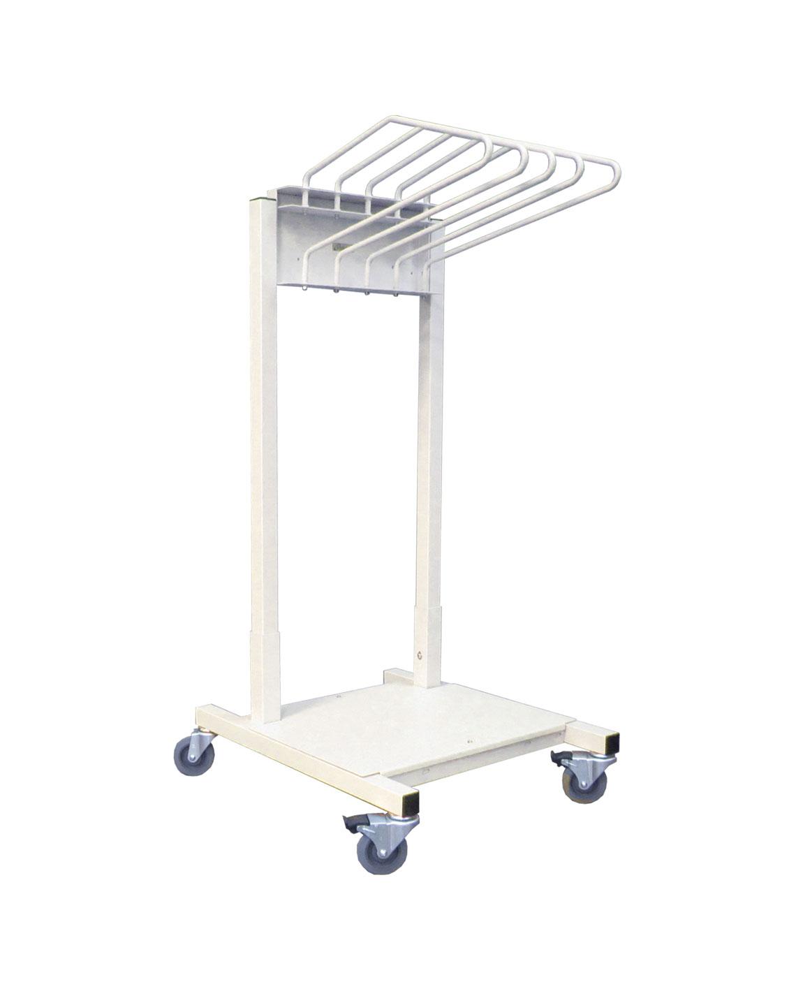 lead apron rack mobile budget saver 5 arm