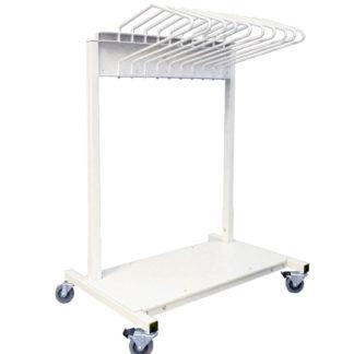 lead apron rack mobile budget saver